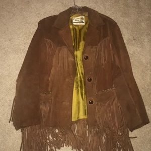 Leather Pioneer Wear Jacket